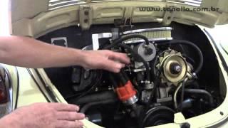 Tonella - fusca com carburador de venturi va