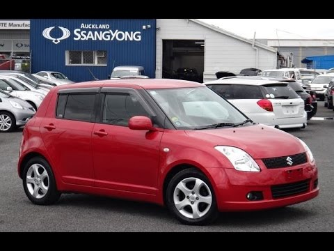 2006 suzuki swift 1 5xs 5 door 1500cc vvti petrol automatic youtube. Black Bedroom Furniture Sets. Home Design Ideas