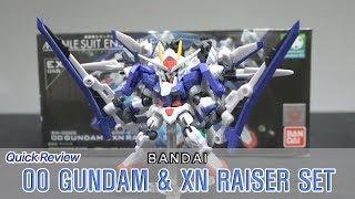모빌슈트 앙상블 EX06B 더블오 건담 & 잔 라이저 세트 / Mobile Suit Ensemble 00 GUNDAM & XN RAISER