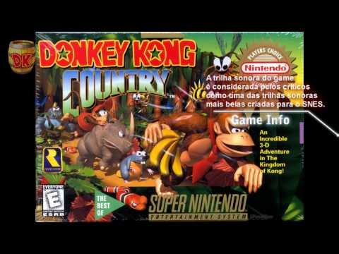 Aquatic Ambience - Donkey Kong Country (David Wise) OST