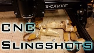 How To 3d Cnc Mill Slingshots - X-carve Cnc