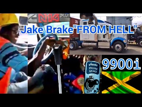 JAKE BRAKE FROM HELL - N14 STRAIGHT PIPED - SQUEEZY with the SWEET FOOT