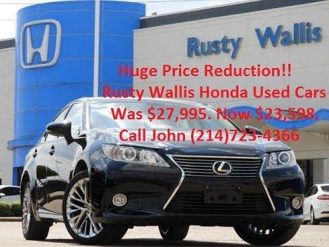 2013 Lexus ES 350 Used Cars in Dallas, Tx 75228