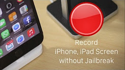 How To: Record iPhone Screen On iOS 8.3/8.4 Without Jailbreak