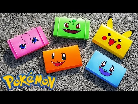 DIY EASY Pokemon Pencil Box! Back to School Tutorial | NerdECrafter |  DIY School Supplies