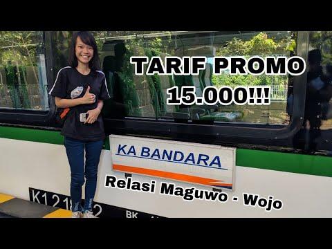Kereta Bandara Terbaru!!! Naik Kereta Bandara Yogyakarta International Airport