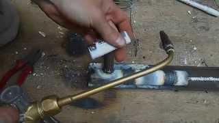 Как врезаться в трубу газосваркой