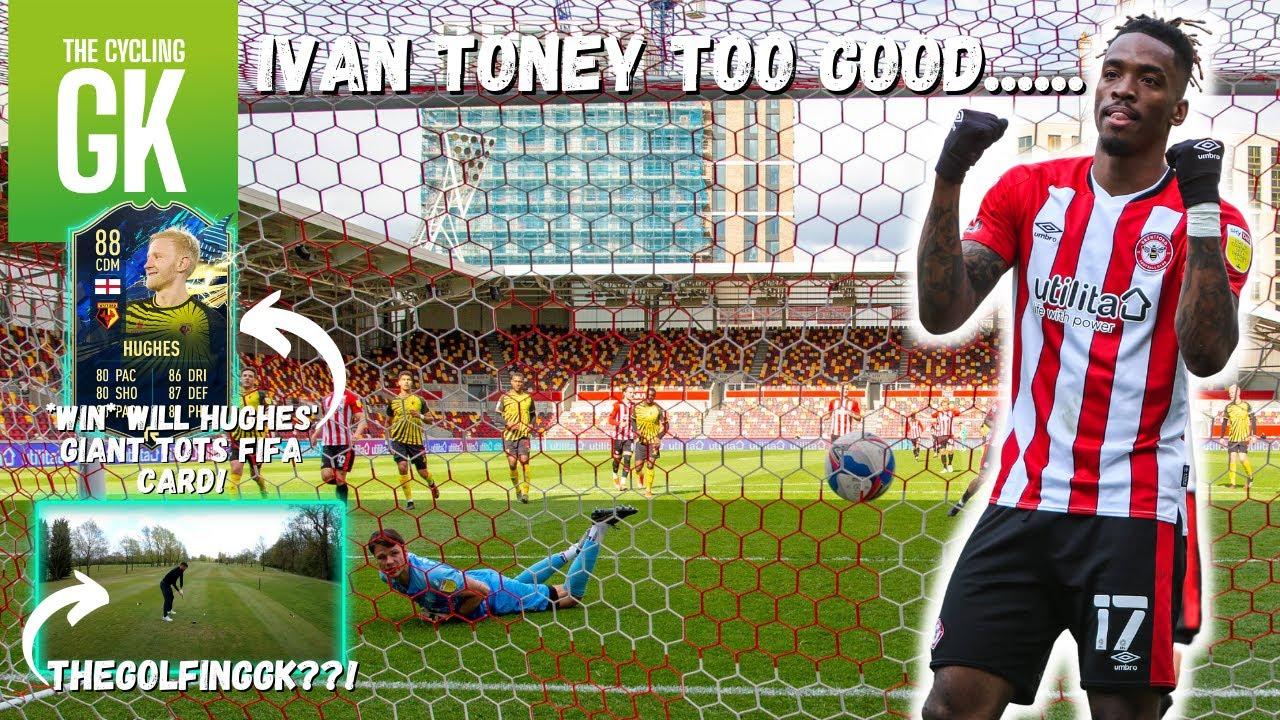 30 Goal Ivan Toney Too Good! | The Golfing GK??! | Brentford Away | Ben Foster - The Cycling GK