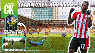 30 Goal Ivan Toney Too Good! | The Golfing GK??! | Brentford Away | Ben Foster - The Cycling GK