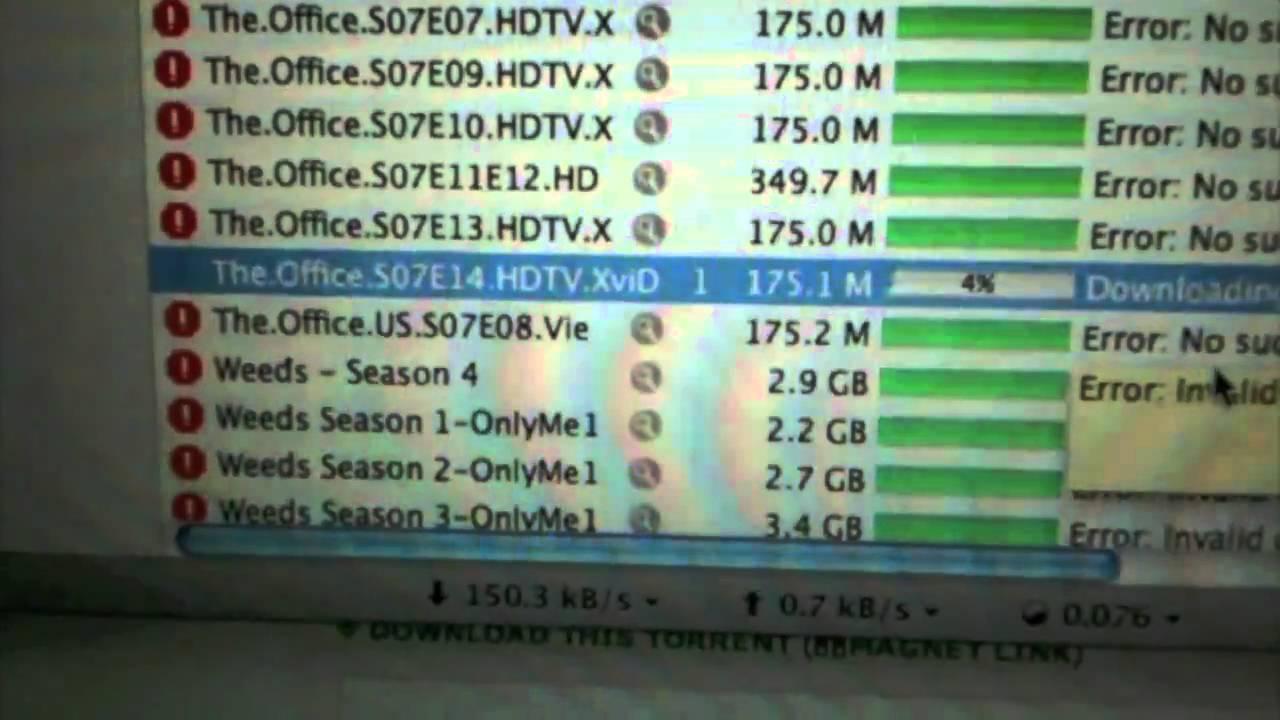 weeds season 7 torrent download