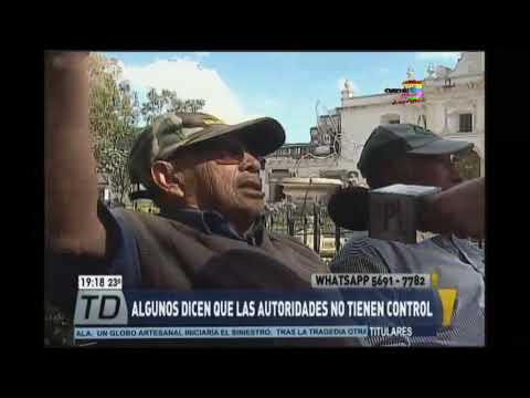 Dañan fuente de Antigua Guatemala