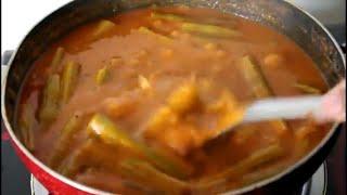 ನುಗ್ಗೆಕಾಯಿ ಸಾಂಬಾರ್/nuggekay sambar recipe in kannada/nugekay saru/drumstick sambar recipe in kannada