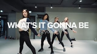 May J Lee teaches choreography to What's It Gonna Be by Beyoncé. Le...