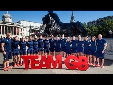 Team GB Women's 7s prepare for Rio 2016