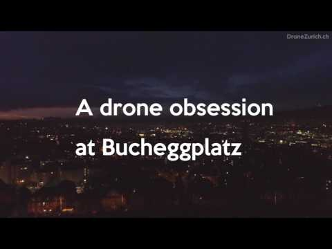 Sunrise drone obsession at Bucheggplatz, Zurich