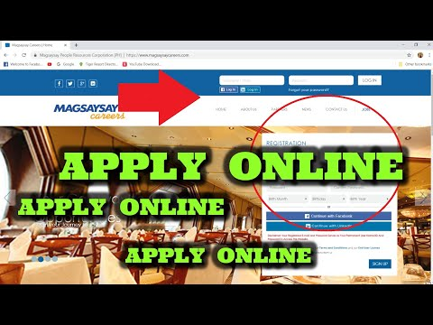 PAANO MAG APPLY SA CRUISE SHIP? APPLY ONLINE VIA MAGSAYSAY CAREERS