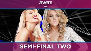 AVEM 04: Semi Final Two (Recap)