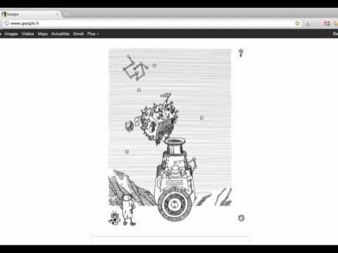 Doodle google & Stanislas Lem