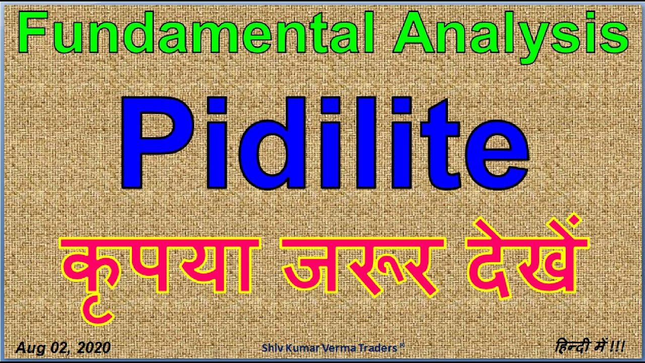 Pidilite Industries Stock Analysis Pidilite Industries Share Pidilite Industries Share Review Youtube