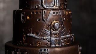 Steampunk Wedding Cake | Свадебный Торт в стиле Стимпанк