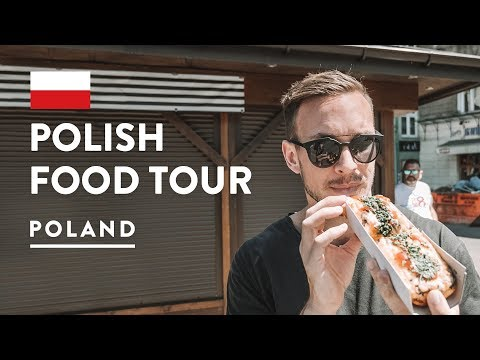 IS POLISH FOOD GOOD?! Krakow Food Tour - EatPolska Poland | Travel Vlog 2018