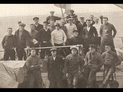 Ernest Shackleton and Endurance crew