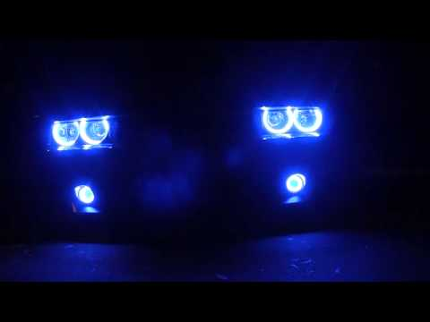 Dodge Challenger BLUE ORACLE Halos By Advanced Automotive