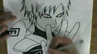 HOW TO DRAW GAARA
