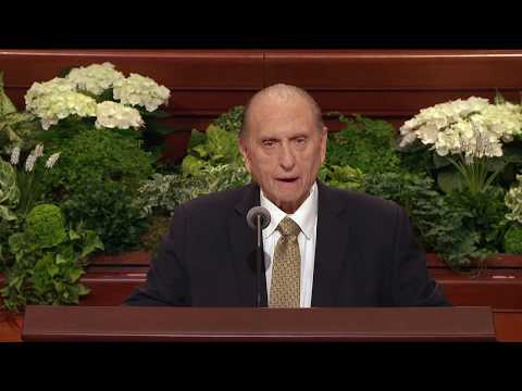 Last public address of President Monson