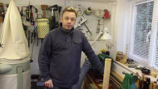 Part 1 of 3 : Woodturning for Beginners / Spindle Turning - Roughing from Square to Round