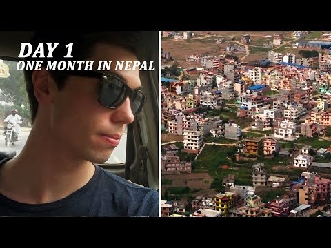 UPGRADED TO BUSINESS CLASS – One Month in Nepal // Day 01