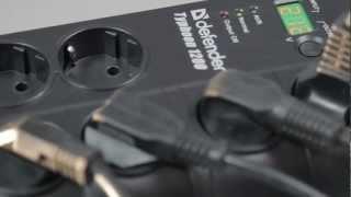 видео Стабилизатор напряжения Pilot  LD 900