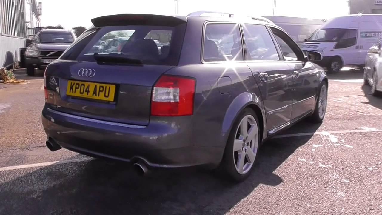 Audi A4 B6 T Quattro S Line 190 U22629 Youtube
