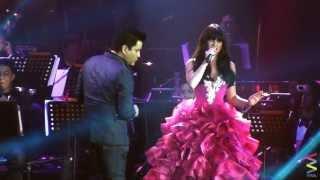 Anne Curtis and Martin Nievera LIVE!!! [Best duet!!!]