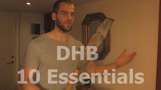 10 things i am bringing for DHB 2018