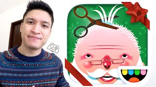 MERRY CHRISTMAS!!!! :DDD (Toca Hair Salon - Christmas Gift Gameplay)