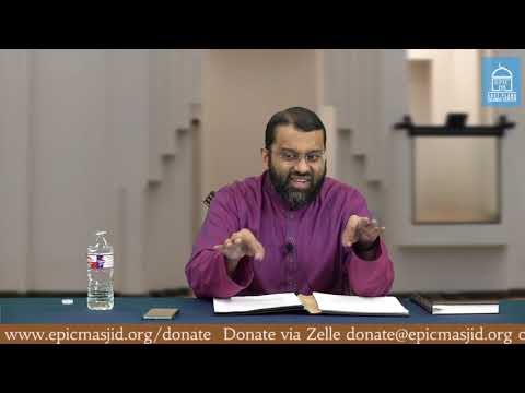 The Scroll of Deeds |  Shaykh Dr. Yasir Qadhi | The Day of Judgment #11