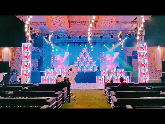 Led Wall with stage sound