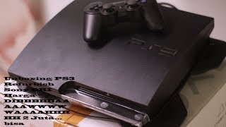 unboxing PS3 1 JUTAAAANNN!!!!!!!!!!!!  BISA ONLINE...