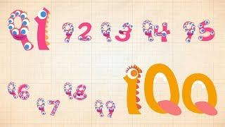Endless Numbers - Learn to Count from 91 to 100 & Simple Addition With the Adorable Endless Monsters