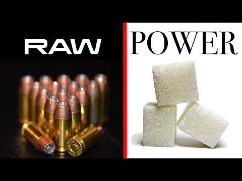 Sugar As Gunpowder Substitute - Energy Comparison