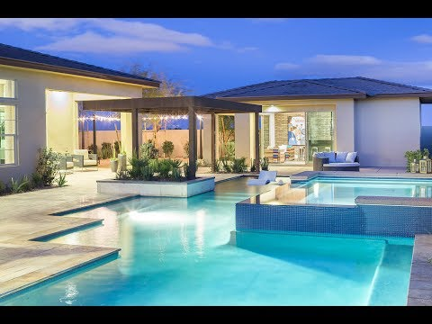 Ultra-Modern MyHeaven Meridian Plan 1B by Pardee Homes in Southwest Las Vegas