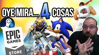 Oye Mira 4 Cosas - Anuncios Sfv, Epic Vs Steam Round 2, Película Sonic, Anthem Stream Y Ea