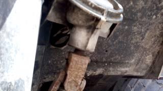 Установка рулевой рейки на ЛУАЗ 2 ч(Привод рулевой рейки от Фольцвагена Гольф 2 на ЛУАЗе через угловой редуктор от Фольцвагена Т 2., 2015-03-10T07:40:19.000Z)