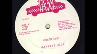 Garnett Silk - Green Line + Version (Hot Milk Riddim)