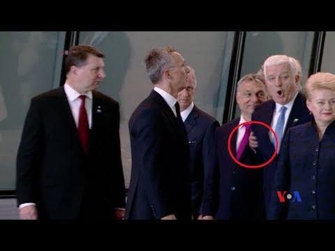 Tổng thống Mỹ gạt Thủ tướng Montenegro sang một bên?