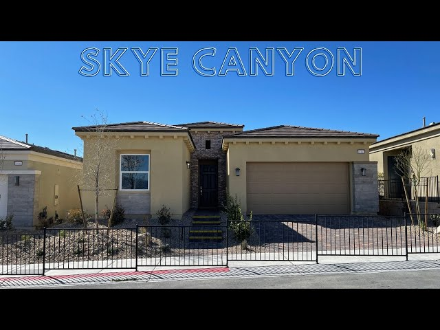 New Homes For Sale Skye Canyon | Skye Mesa by Century Communities | 2204 Home Tour | $421k+