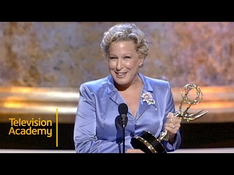Bette Midler Wins Outstanding Performance in a Variety Or Music Program  Emmy Archive 1997