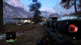 Far Cry 4, outpost taking  like a baws