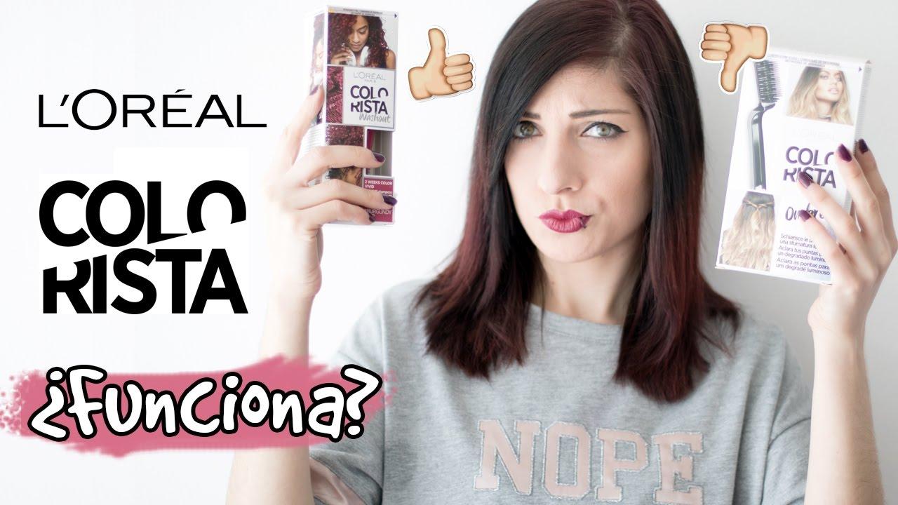 PROBANDO L'OREAL COLORISTA ♡ | ¿Es un timo?| SweetBrush ...